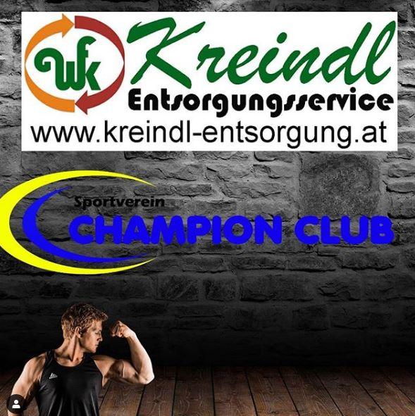 Weiterer Sponsor gefunden: Kreindl Entsorungsservice